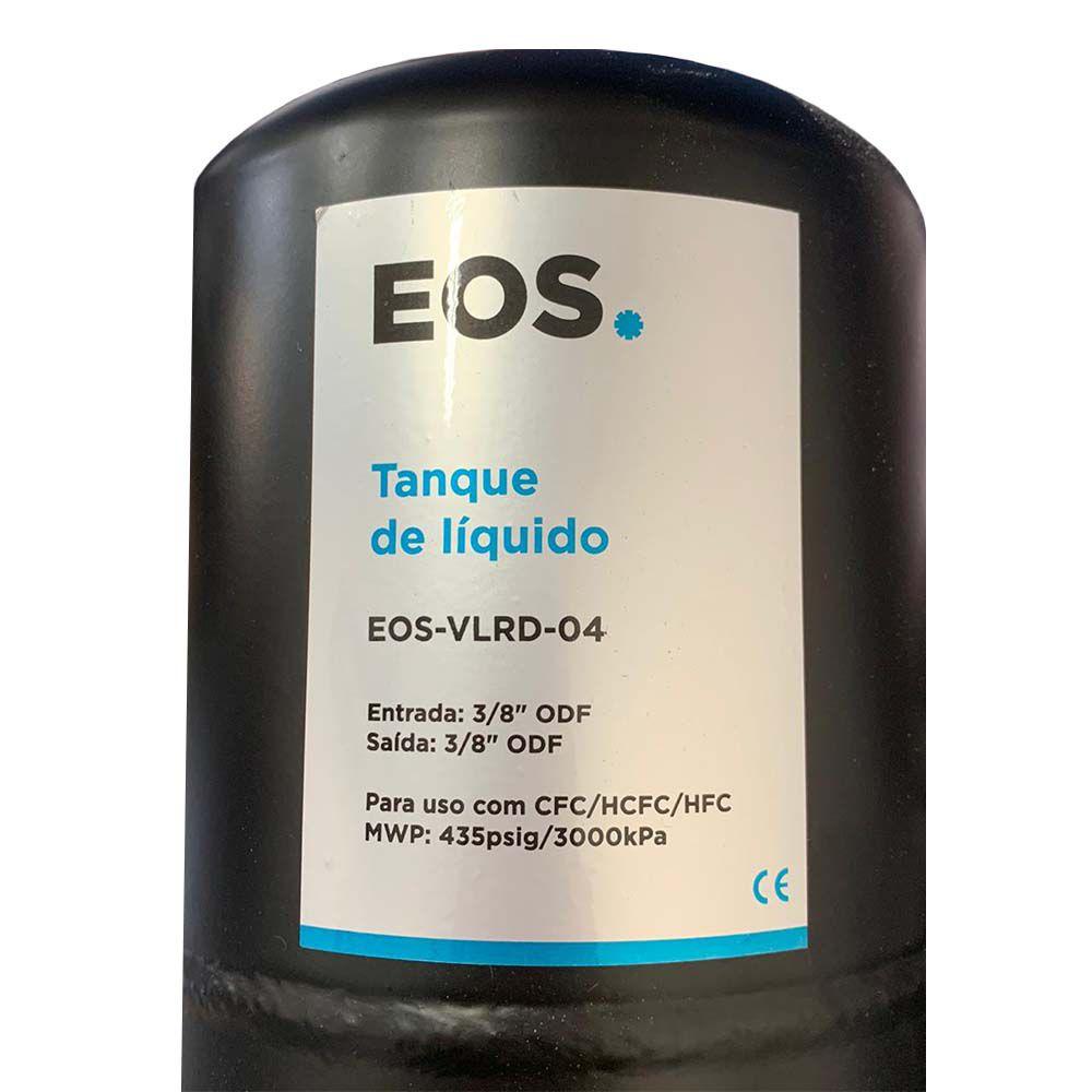 """Tanque de Líquido Entrada 3/8"""" Saída 3/8"""" EOS"""