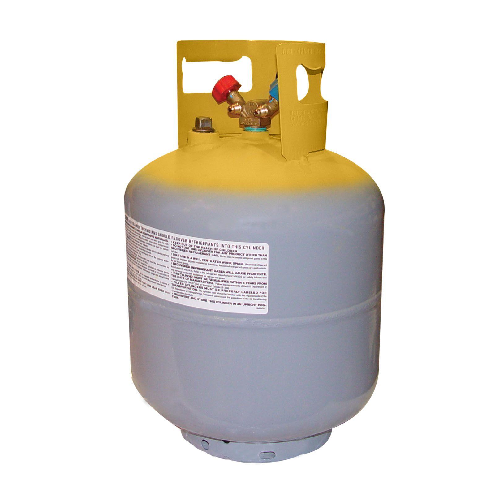 Tanque Recolhedor Com Válvula Gás Refrigerante 23kg Mastercool 63010