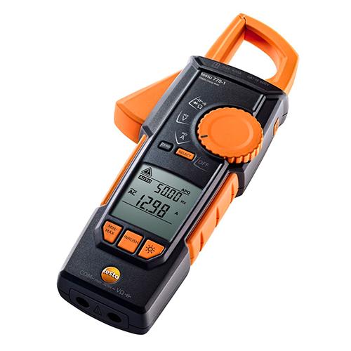 Alicate Amperímetro Testo 770-1 True-RMS