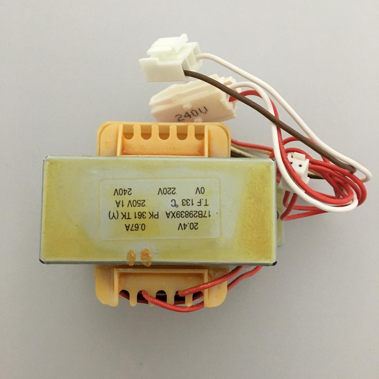 Transformador Ar Condicionado  Hitachi  17B29839A
