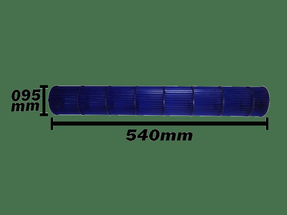 Turbina Evaporadora Split Springer Midea 7.000 e 9.000 Btus 201100200011 094X540mm