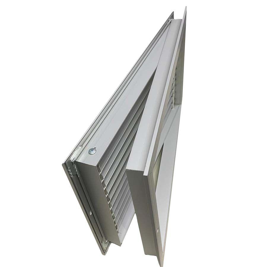 Veneziana Dupla Moldura Para Portas 450x250mm