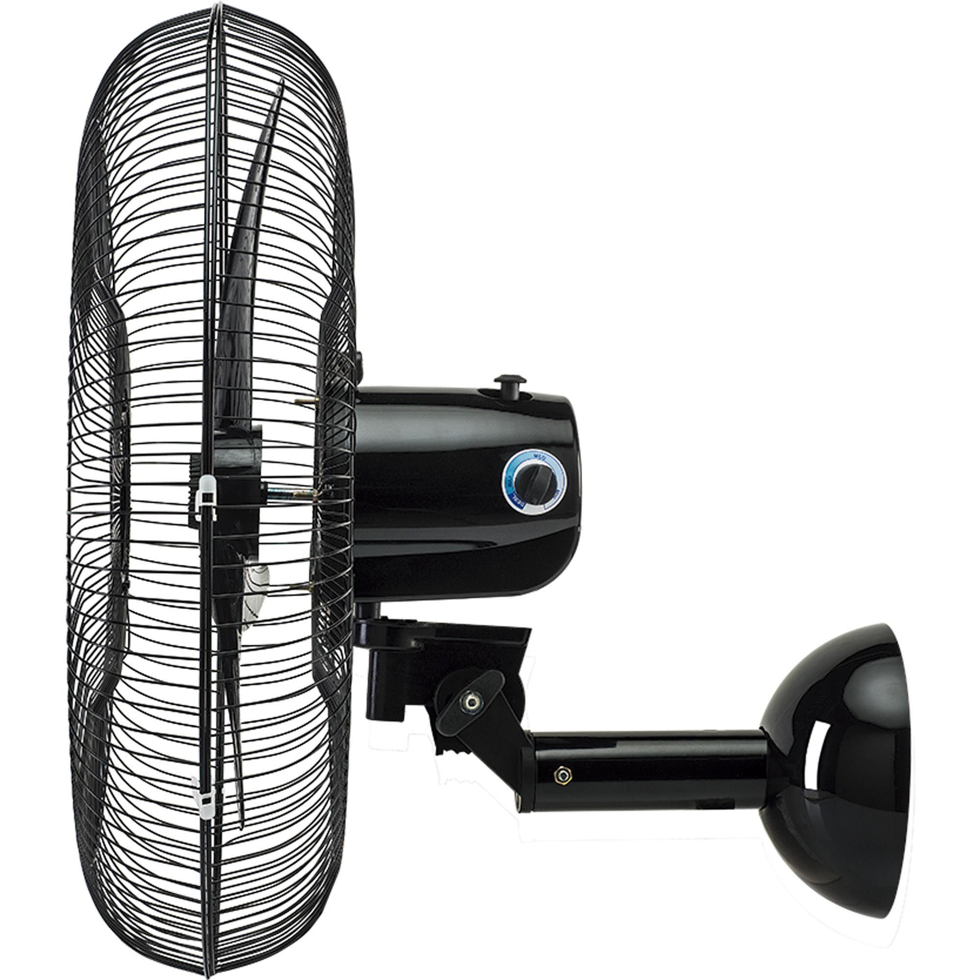 Ventilador de Parede New Aço Premium 60cm Preto Ventisol