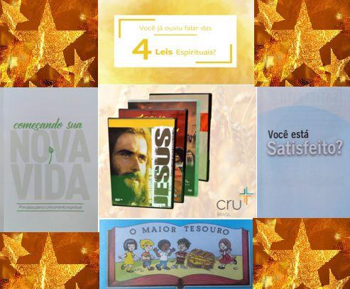 KIT DE EVANGELISMO PARA O NATAL + BRINDE DVD FILME JESUS
