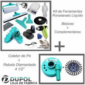 Kit Ferramentas Complementar + Coletor + Disco