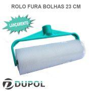 Rolo Fura Bolhas 23cm (Novo Suporte Plástico)