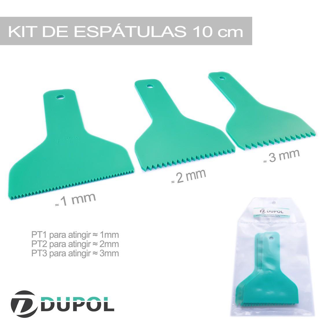 Espátulas Porcelanato Liquido - Mesa Resinada - Epóxi Kit