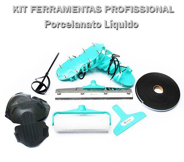 Kit Profissional Porcelanato Líquido (Kit F)