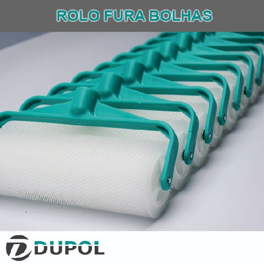 Rolo Fura Bolhas 23cm - Revenda (10 Unidades)