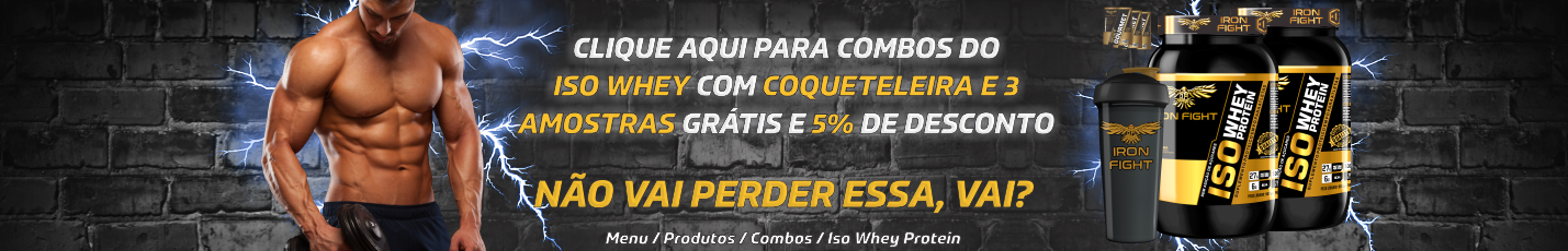 BANNER ROTATIVO ISO WHEY PROTEIN