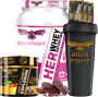 COMBO 1 HER WHEY DEFINITION + 1 PRE-WORKOUT + 1 COQ GRÁTIS + 3 AMOSTRAS GRÁTIS
