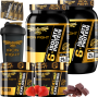 COMBO 2 6-ISOLATE PROTEIN + 2 CREATINE + 1 COQ GRÁTIS + 3 AMOSTRAS GRÁTIS