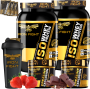 COMBO 2 ISO WHEY PROTEIN + 2 CREATINE + 1 COQ GRÁTIS + 3 AMOSTRAS GRÁTIS