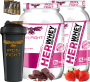 COMBO 2 HER WHEY DEFINITION + 1 COQ GRÁTIS + 3 AMOSTRAS GRÁTIS