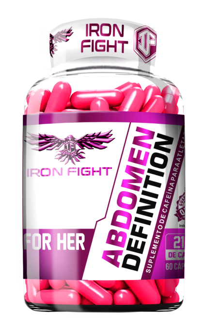 Abdomen Definition for Her Pote 60 Cápsulas Iron Fight