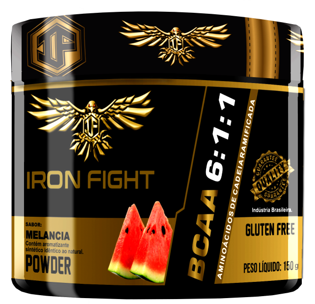 BCAA 6:1:1 - Pote 150g pó Iron Fight
