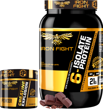 COMBO 1 6-ISOLATE PROTEIN + 1 CREATINA