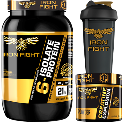 COMBO 1 6-ISOLATE PROTEIN + 1 CREATINE + 1 COQ GRÁTIS