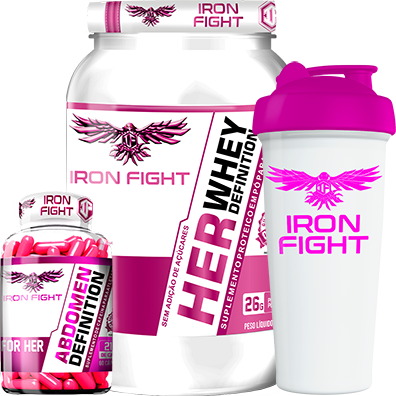 COMBO 1 HER WHEY DEFINITION + 1 ABDOMEN DEFINITION FOR HER + 1 COQ GRÁTIS
