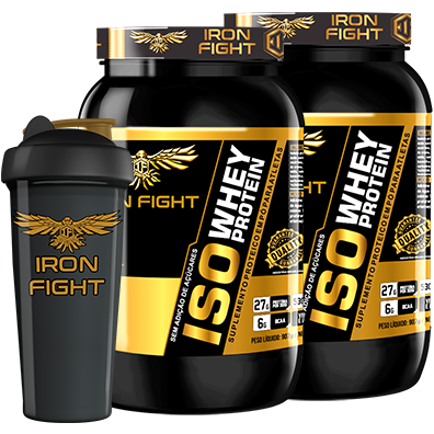 COMBO 2 ISO WHEY PROTEIN + 1 COQ GRÁTIS