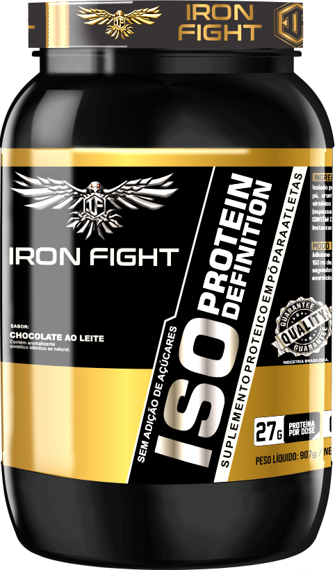 ISO PROTEIN DEFINITION Pote 907 gramas