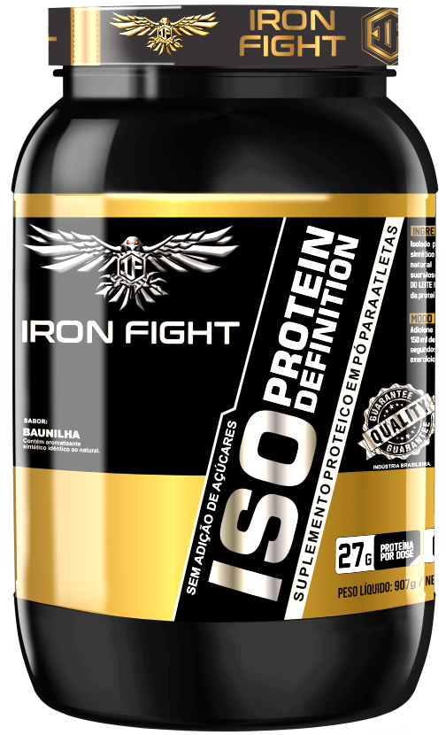 ISO Protein Definition Pote 907g em pó Iron Fight