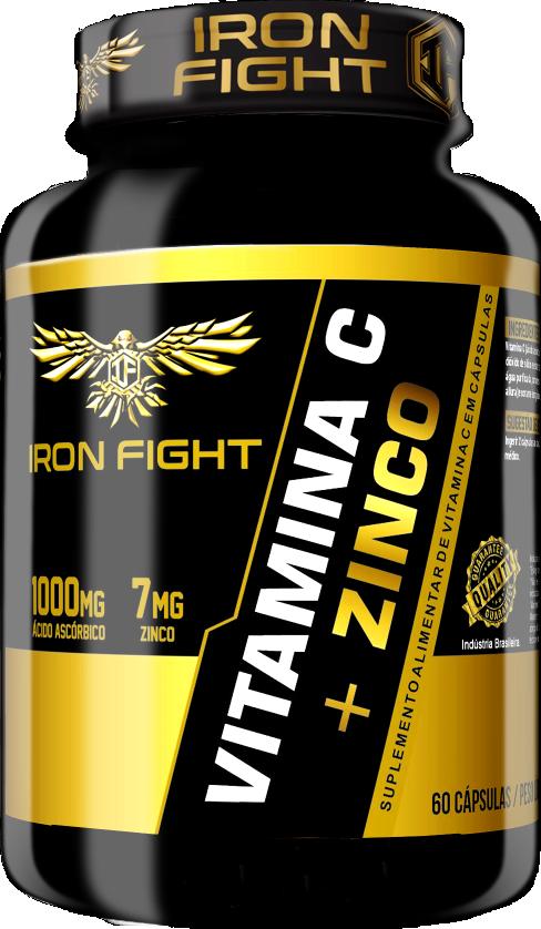 Vitamina C + Zinco Pote 60 Cápsulas