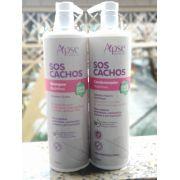 KIT 1 SH NUTRITIVO + 1 COND SOS CACHOS TODOS DE 1000ML - APSE - 100% VEGANO