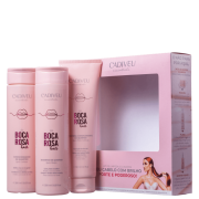Kit Cadiveu Professional Boca Rosa Hair Limpeza & Cuidados Diários