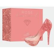 PERFUME FEMININO SAPATINHO GIVERNY ROSE DIAMOND FEMME-100 ML