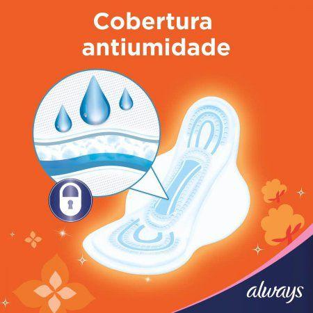 ABSORVENTE ALWAYS SUPER PROTEÇÃO SUAVE COM ABAS 16 UN