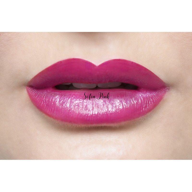 Batom Isis Lip Tint Sofia Pink