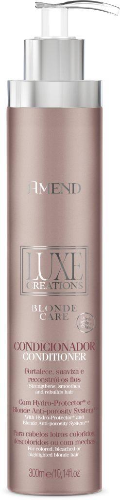 Condicionador Amend Luxe Creations Blonde Care - 300ml