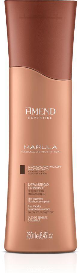 Condicionador Nutritivo Marula Fabulous Nutrition Amend - 250ml