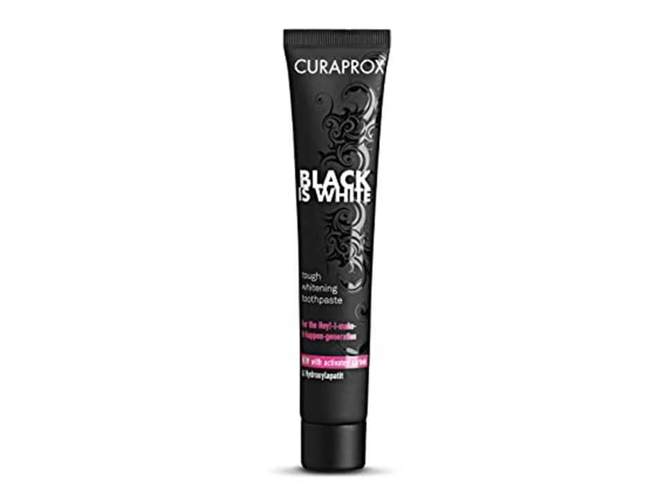 CREME DENTAL BLACK IS WHITE - CURAPROX
