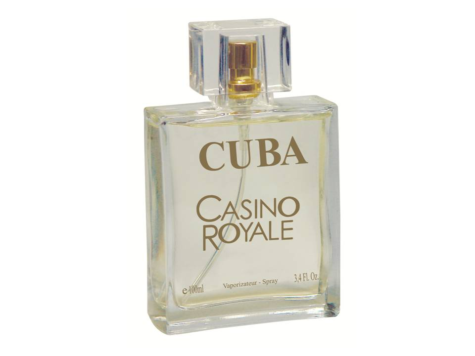 CUBA CASSINO ROYALE DEO PARFUM PRIME 100ML - MASC