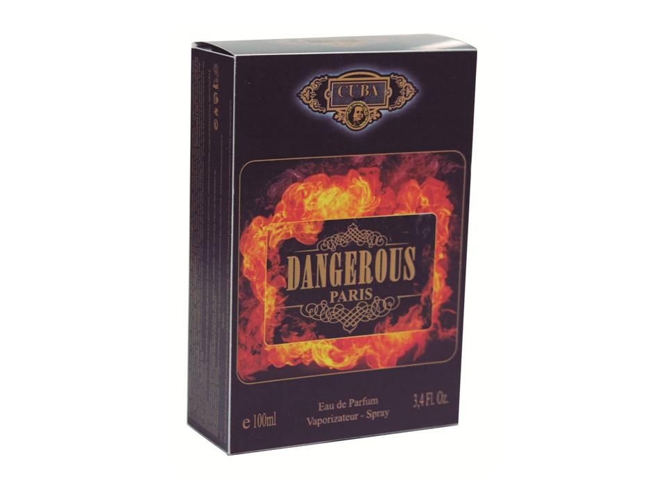 CUBA DANGEROUS DEO PARFUM PRIME 100ML - MASC