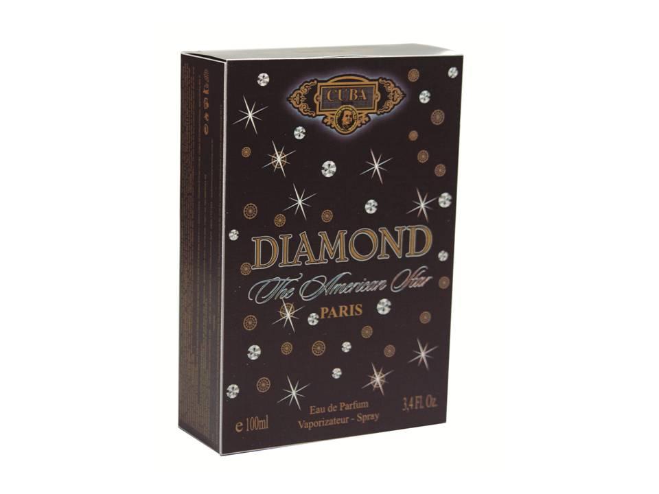 CUBA DIAMOND DEO PARFUM PRIME 100ML - MASC