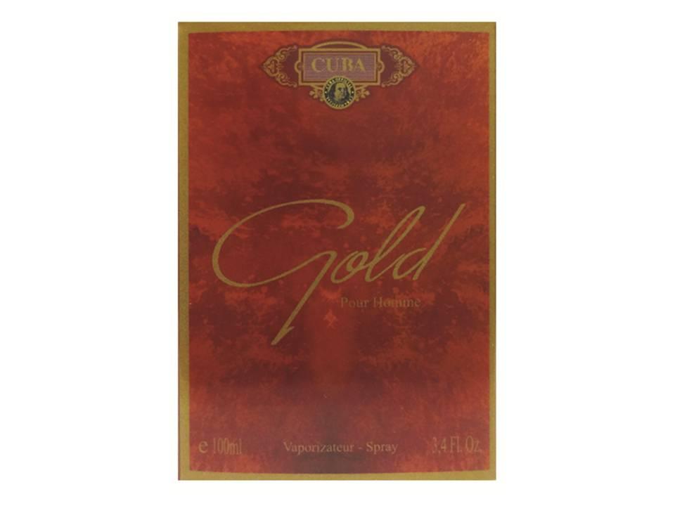CUBA GOLD DEO PARFUM PRIME 100ML - MASC