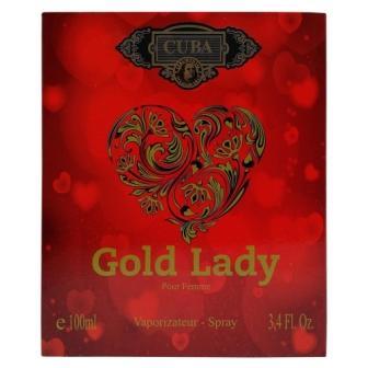 CUBA GOLD LADY DEO PARFUM PRIME 100ML - FEM