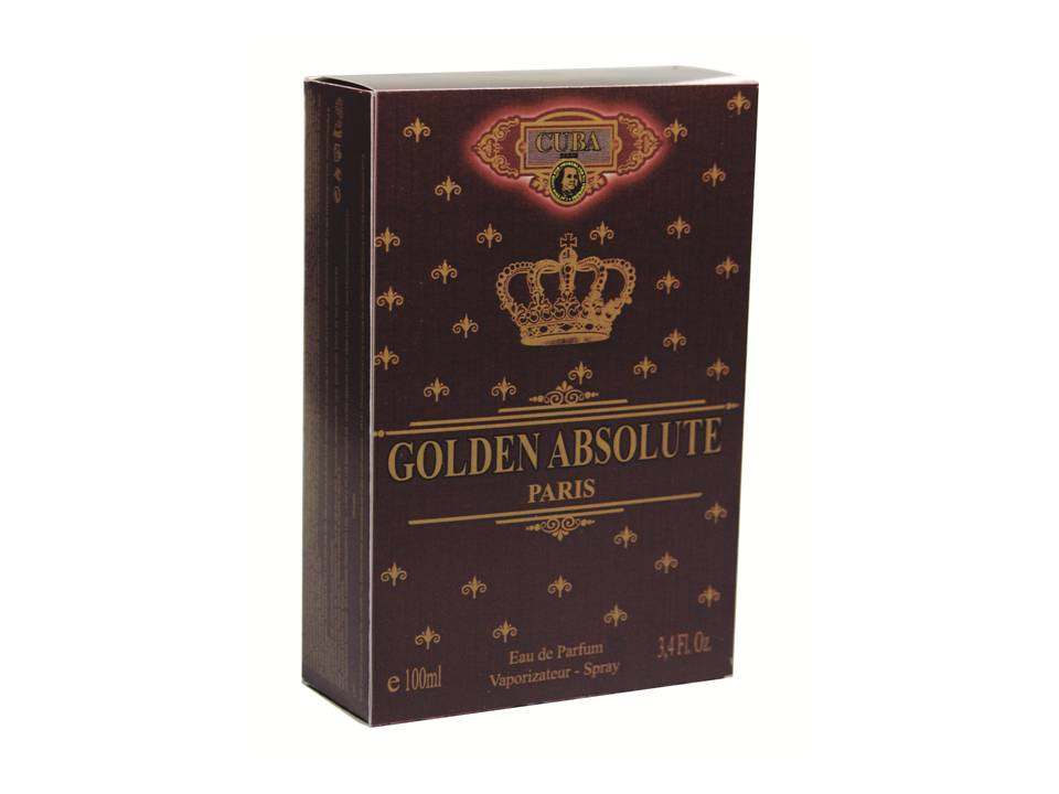 CUBA GOLDEN ABSOLUTE DEO PARFUM PRIME 100ML - MASC