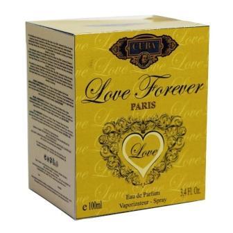 CUBA LOVE FOREVER DEO PARFUM PRIME 100ML - FEM