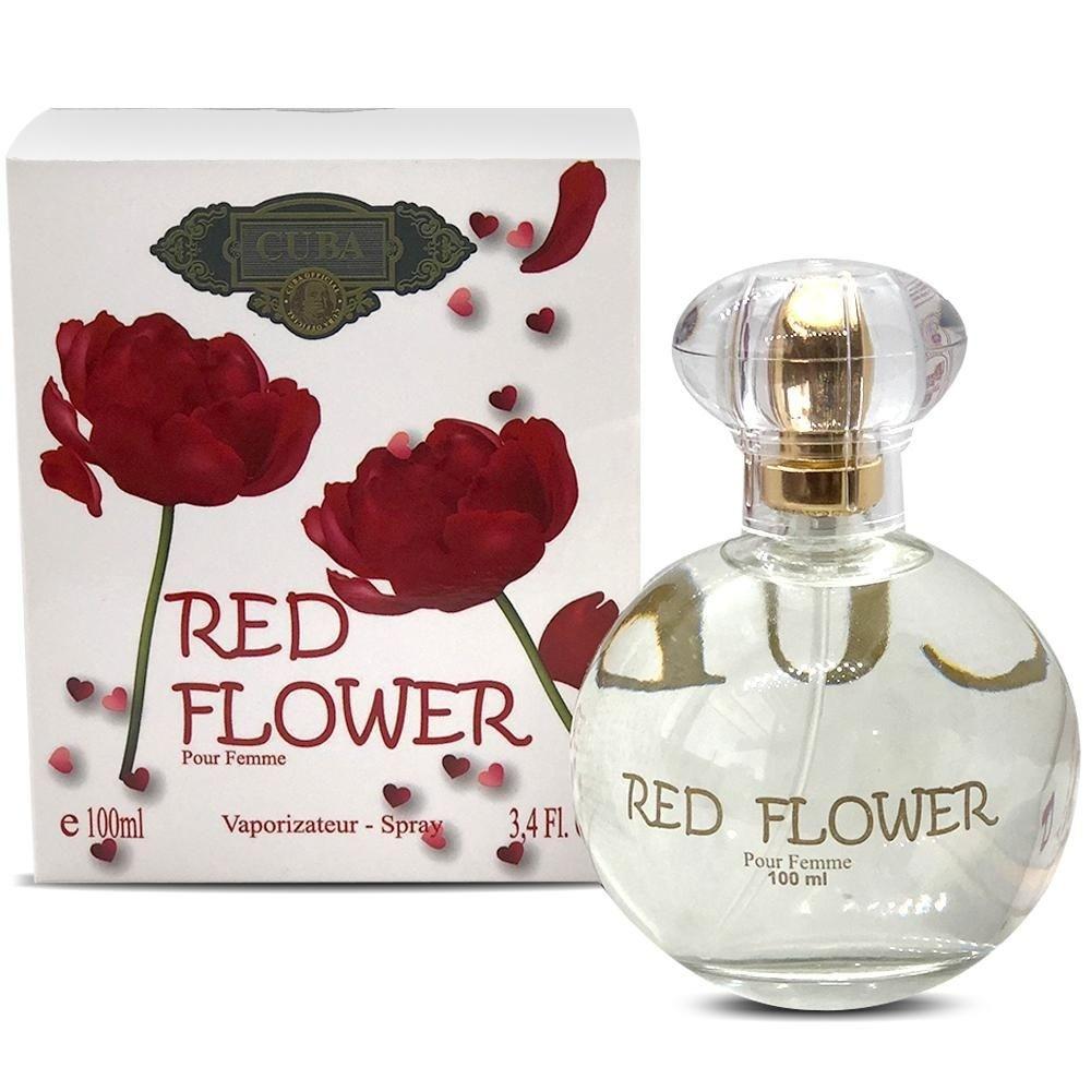 CUBA RED FLOWER DEO PARFUM PRIME 100ML - FEM