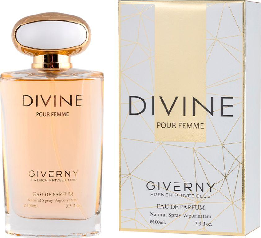 PERFUME FEMININO DIVINE POUR FEMME  GIVERNY 100ML
