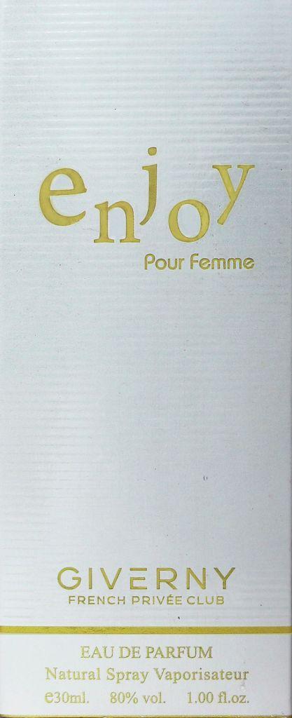 PERFUME FEMININO ENJOY POUR FEMME GIVERNY 30ML
