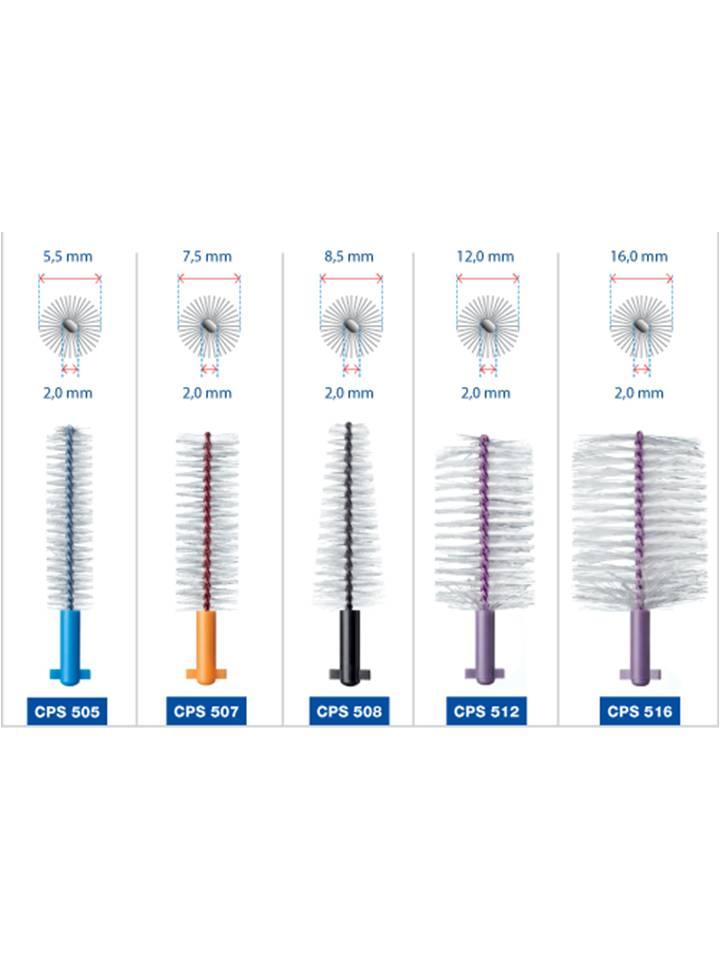 Escova de Implante Refil Soft Implant Curaprox CPS 516