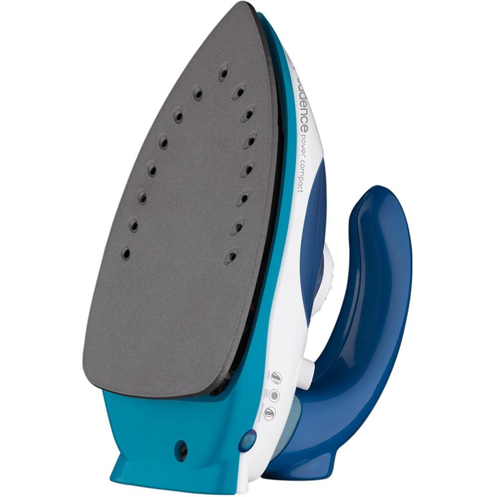 Ferro de Passar Cadence IRO050 Power Compact Azul e Branco Bivolt