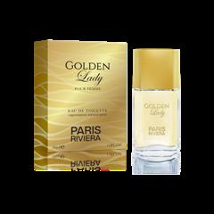 Golden Lady Women Paris Riviera - Perfume Feminino EDT- 30ml