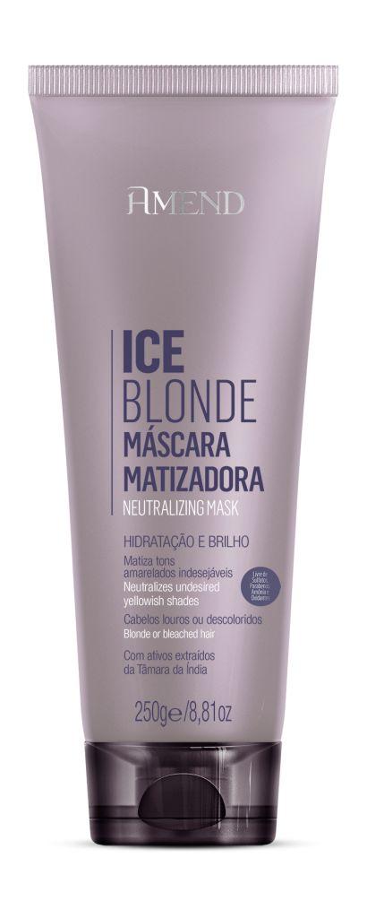 Ice Blonde Máscara Matizadora Hidratação e Brilho - 250g