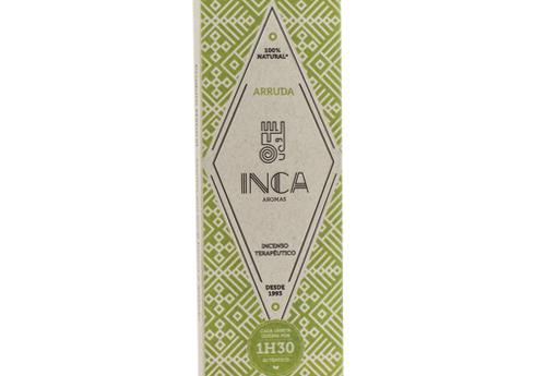 Incenso Arruda Inca (4 Varetas De 1h30 Cada)
